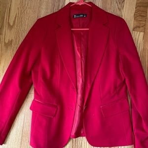 New York and Company Red Blazer